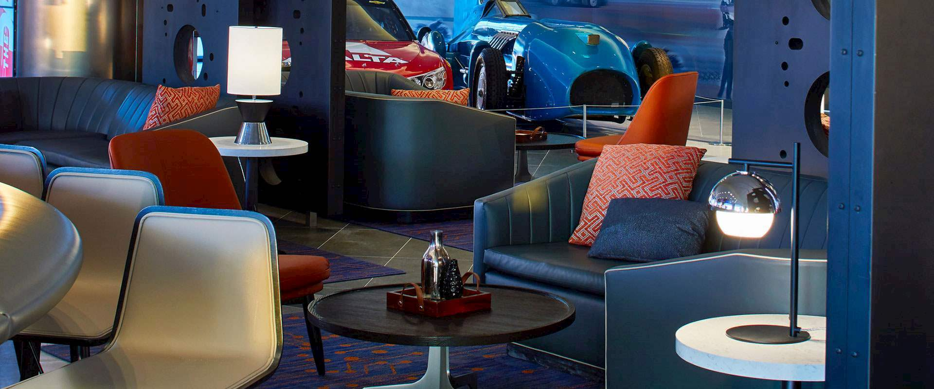 Blue Flame Bar at Daytona Beach Hotel