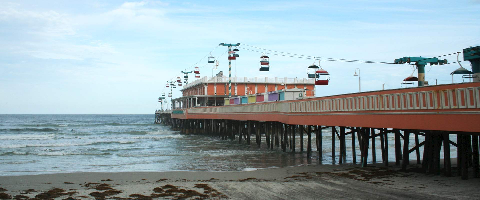 Boardwalk of Daytona Beach, Florida