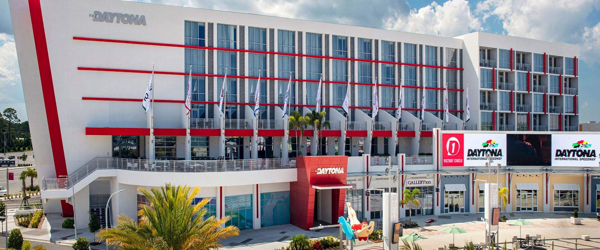 Location of The Daytona, Autograph Collection Hotel