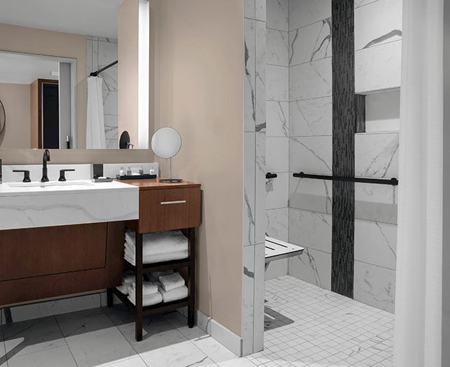 Ada Accessible Rooms at The Daytona Autograph Collection Hotel