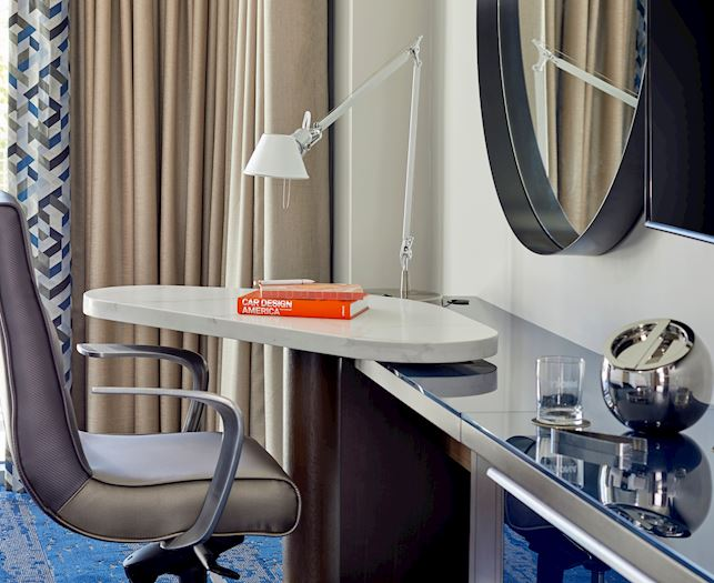 Two Queen Guest Room With Balcony at The Daytona Autograph Collection Hotel