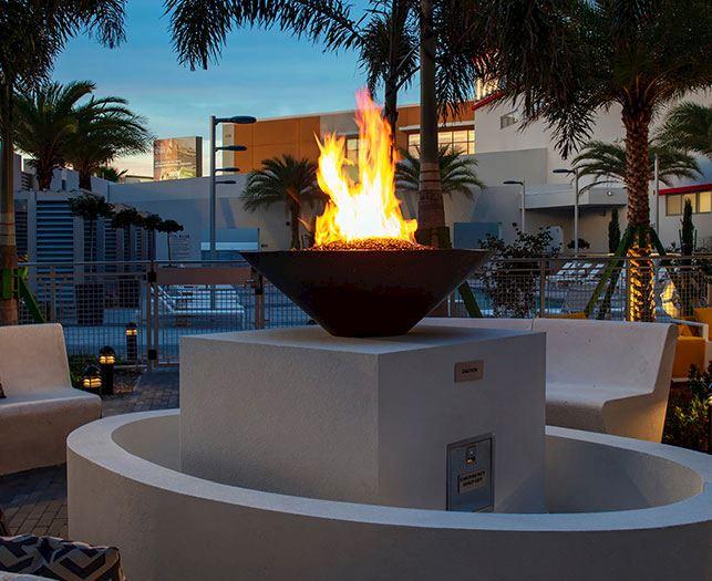 Fire Pits Facility at Daytona Beach Hotel