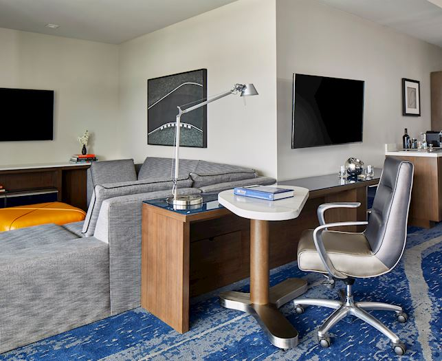 King One Bedroom Suite With Balcony at The Daytona Autograph Collection Hotel