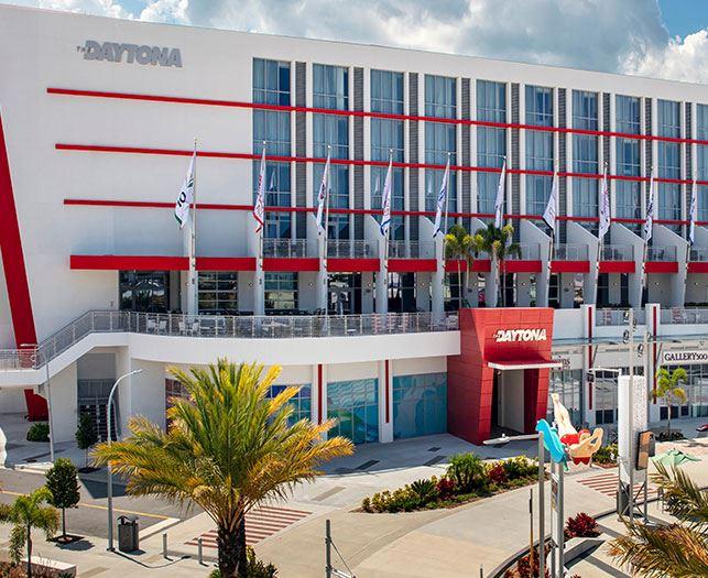 Location of The Daytona Beach Hotel